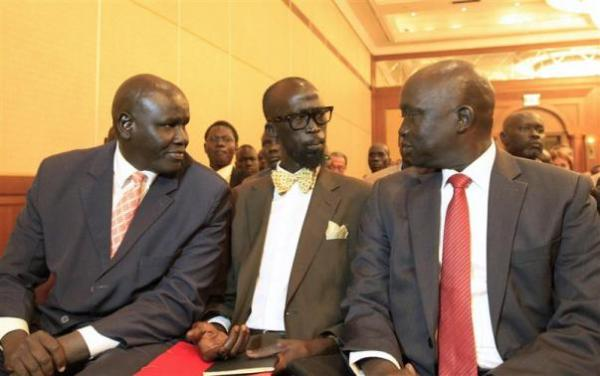 South Sudan mediators, SPLM representative at peace talk in Addis Ababa(Photo: file)