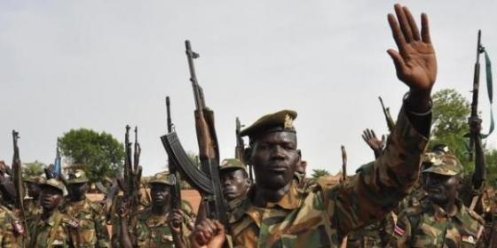 SPLA soldiers in the first phase of 2013-2014 South Sudan civil war in Malakal, Upper Nile(Photo: files)