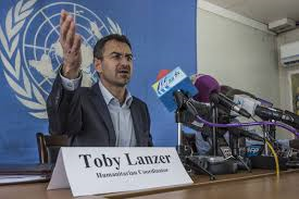 Toby gave controversial reports on Bentiu. The UN later refutes some of the reports on May 08, 2014(Photo: Reuters)