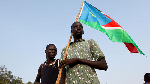 South Sudanese youth celebration the independent of South Sudan (Photo: Equatoriansun)