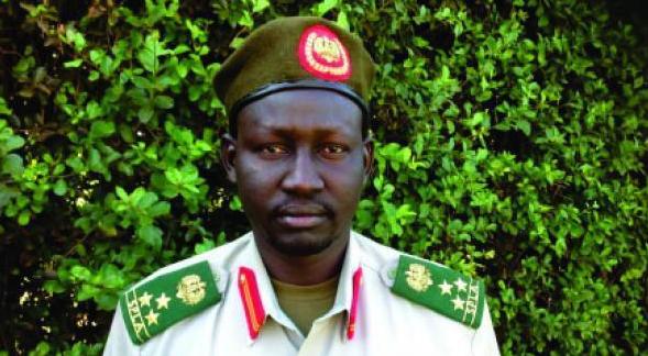 Brig. Gen. Lul Ruai Koang, Military Spokesperson for SPLA in Opposition(Photo: Lul|Nyamilepedia)