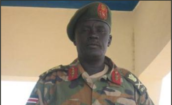 Gen. Dau Aturjong Nyuol, from Norther Barh el Ghazal state, joins Dr. Machar(Photo: via Salem-News.com
