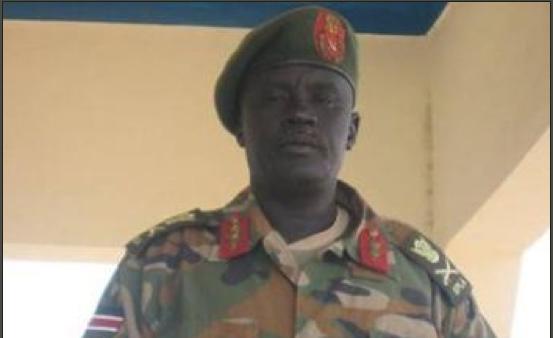 Gen. Dau Aturjong Nyuol, from Norther Barh el Ghazal state, joins Dr. Machar(Photo: via Salem-News.com