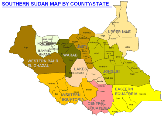 south_sudan_map_states