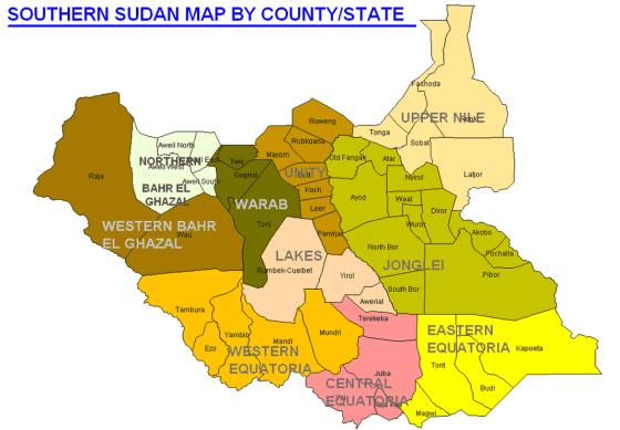 south_sudan_map_states