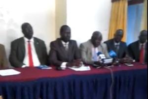 Dr. Richard K. Mulla address the media at 680 hotel, Nairobi ...