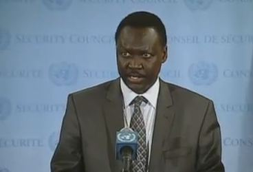 Francis Nazario, Permanent Representative of South Sudan to the United Nations (ST)
