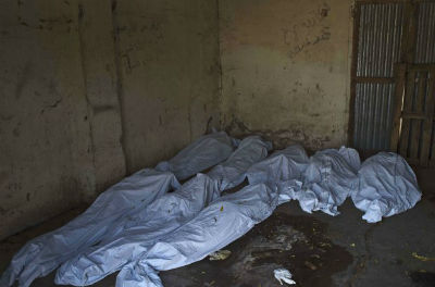 Arbitary image of dead bodies(Photo: AFP/Ali Ngethi)