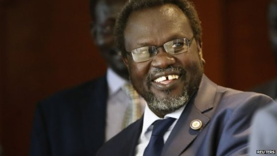 The first vice president of South Sudan, Dr. Riek Machar Teny(Photo: Reuters)