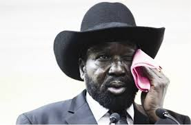 Pres Salva Kiir Mayardiit(photo: via Kayira Etienne)