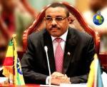 The Ethiopian Prime Minister, Hailemariam Desalegn ...