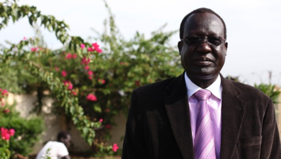 James Hoth Mai, former Chief of South Sudanese army(photo: SOUTHSUDAN-UNREST/SPLA REUTERS/Andreea Campeanu )