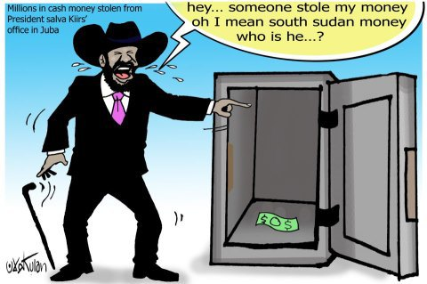 Millions Stolen In Salva Kiir's office