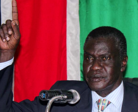 The Former Central Equatoria State Governor, Gen. Clement Wani Konga is safe with SPLM/A leaders in Opposition. [Photo: Nyamilepedia|File]