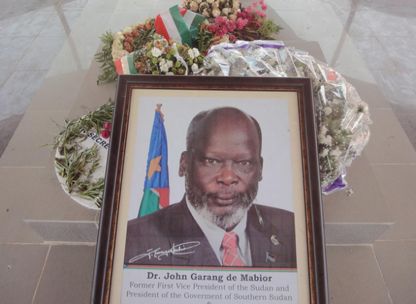 Dr. John Garang de Mabior Memorial in Juba South Sudan(Photo: via Joao Leitao)