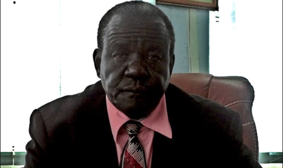 """Manasseh Magok Rundial, Speaker of the South Sudan National Assembly – """"The UPDF saved our country.""""(Photo: via London Evening Post)"""