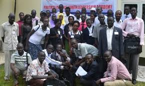 National Youth of South Sudan took a group photo after the forum 2012