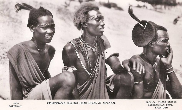 SHILLUK (COLLO) PEOPLE: ANCIENT NILOTIC WARRIOR PEOPLE OF UPPER NILE IN SOUTH SUDAN (Source: Via Trip Down Memory Lane)