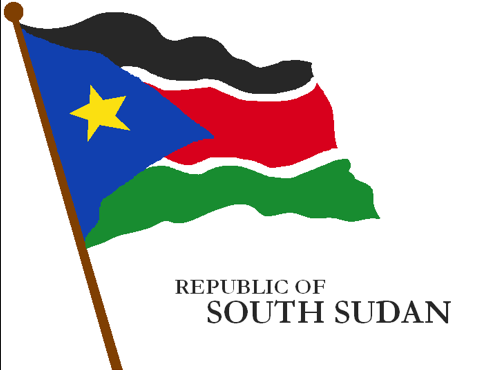 Flag of the Republic of South Sudan. The newest and 193rd country of the world.( Deviontart)