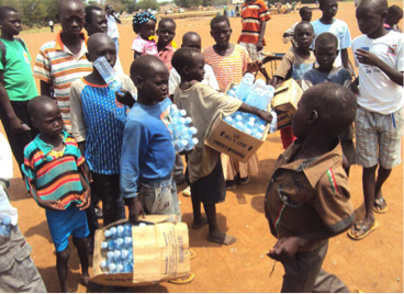 Survey shows that there are 2000 children on the streets of South Sudan(Photo: supplied)
