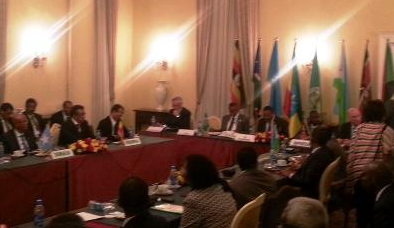 An extraordinary session of the IGAD heads of states meeting in the Ethiopian capital, Addis Ababa (IGAD photo)