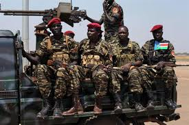 SPLA Soldiers in Unity State 2014(Photo: file)