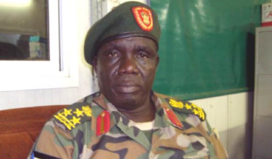 Brigadier Malaak Ayuen Ajok, the SPLA Director of Information [Photo: via Gurtong].
