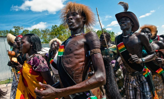 Members of Murle ethnic groups celebrating the independent of South Sudan in 2011(Photo: Nyamilepedia/Compassmedia)