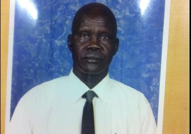 The former SPLM/A officer, engineer Aguer Rual (Photo: Aguer)