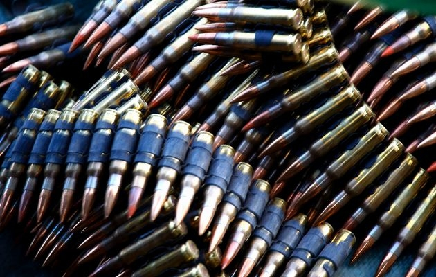 Thousands of bullets transported by the government of South Sudan from China (Nyamilepedia)