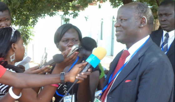 Dr. Lam Akol reaffirmed that South Sudan's incumbent president signed a document that was not negotiated by the parties and also accused the government delegation for lacking political will to political settlement(Photo: supplied)