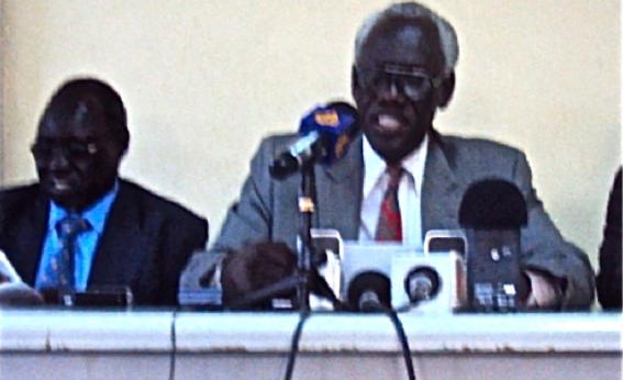 UDF Chairman Peter Abdelrahman Sule. © Daniel Deng Bol