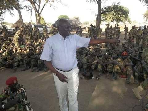 Cheif of General Staff of SPLA-Juba, Gen. Paul Malong Awan(Photo: supplied)