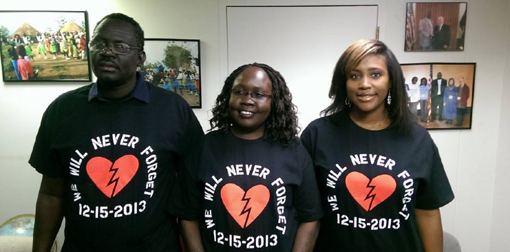 Commemoration of South Sudan Juba massacre in the state of Tennessee, US (Photo: Supplied)