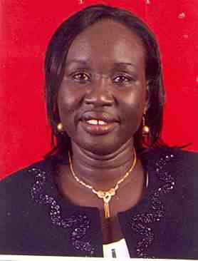 Ms Rachel Nyadak Paul, the deputy Minister of Information and Broadcasting, South Sudan(Photo: file)