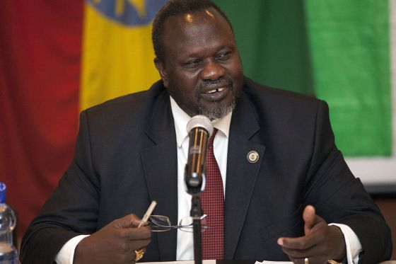 Dr. Riek Machar Teny Dhurgon leader of SPLM-IO [Photo supplies Ali Ngethi]