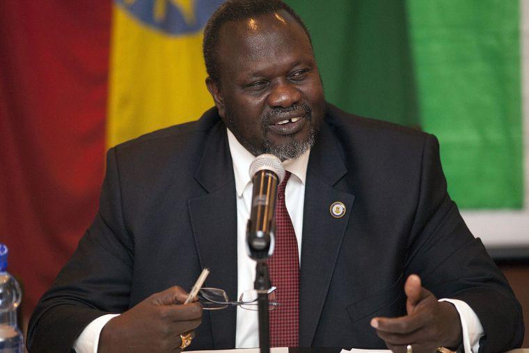 Dr. Riek Machar Teny Dhurgon leader of SPLM-IO [Photo supplies Ali Ngethi]
