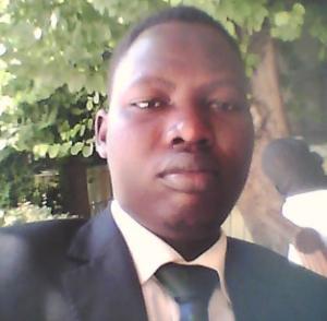Cde. Sirir Gabriel Yiei Rut Chairman of SPLM- Youth League in Egypt
