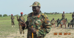 A field commander in Wadokona, Manyo County, South Sudan (Photo: Deng Gai Galuak/Nyamilepedia)