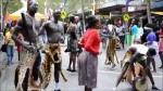 The Dinka culuture show in Juba South Sudan .....