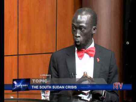 Mabior Garang De Mabior chairman of public information