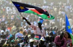South Sudanese nationals turn out in mass number to celebrate the independence of South Sudan in 2011(Photo: file)