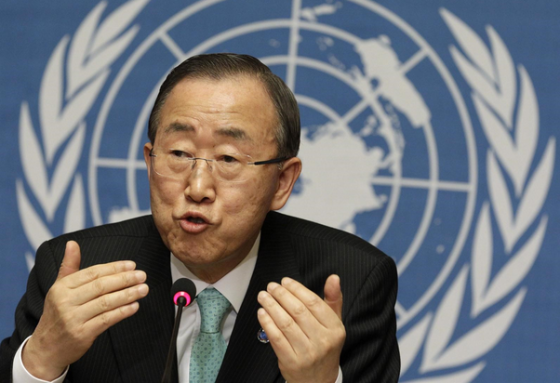 ban ki moon  urges AU commission of enquiry to release their report on South Sudan conflict(Photo: UN)