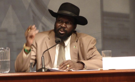 Avoiding peace talks in Addis Ababa, President Salva Kiir issued a decree to restore peace in his country(Photo: file)