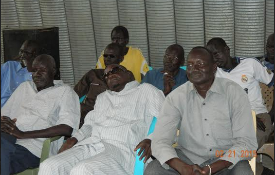 Lou-Nuer Community commemorate the one year anniversary in UNMISS camps across the country(Photo: Nyamilepedia)