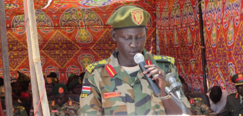 Lul Ruai Koang, the defected rebel brigadier general(Photo: file)