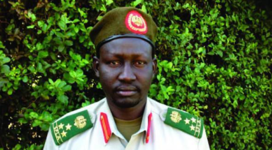 Brig.Gen. Lul Ruai Koang, the former  Military Spokesman of SPLM/A (IO) (Photo: file)