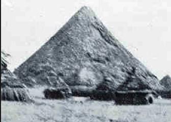 Ngundeng Bong's Pyramid at Wechdeng, Beih (Jonglei) state, South Sudan(Photo: extracted/Nyamilepedia)