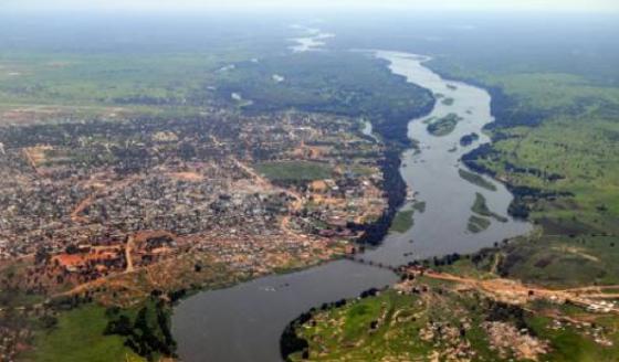River Nile, South Sudan ....