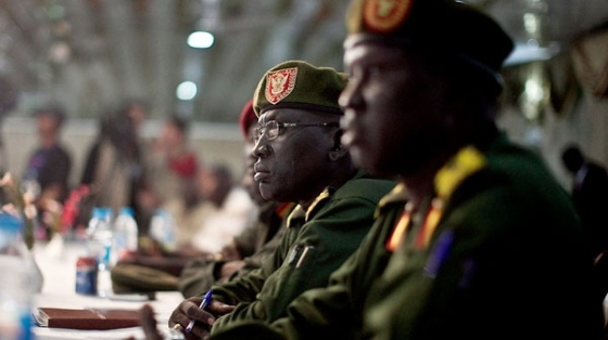 Liberation Army (SPLA) are seen during the signing of ceasefire agreement with southern rebel leader representative of Lt. General George Athor in Juba(Photo: past file)